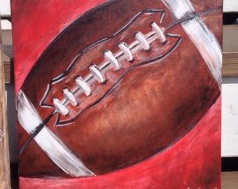 Football Canvas Art