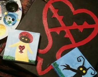 Kingdom Hearts Painting Set