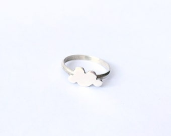 Sterling Silver Cloud Ring