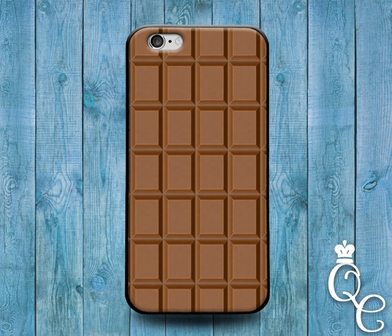 iPhone 4 4s 5 5s 5c SE 6 6s 7 plus iPod Touch 4th 5th 6th Generation Cool Cover Cute Hip Hipster Brown Chocolate Bar Food Phone Funny Case +