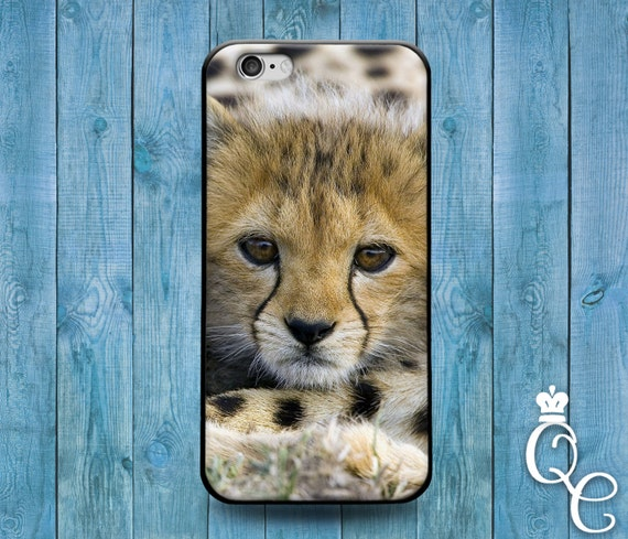 iPhone 4 4s 5 5s 5c SE 6 6s 7 plus iPod Touch 4th 5th 6th Generation Cover Baby African Cheetah Cute Custom Animal Boy Girl New Born Case