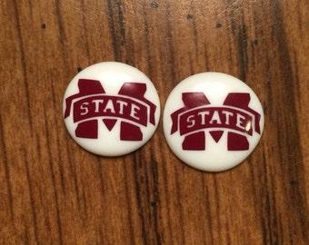 Mississippi State Earrings