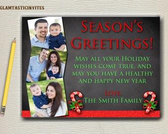 Christmas Card, Family Christmas Card, Family Holiday Card, Season's Greetings, Merry Christmas, Photo Card, Holiday Greeting Card, New Year