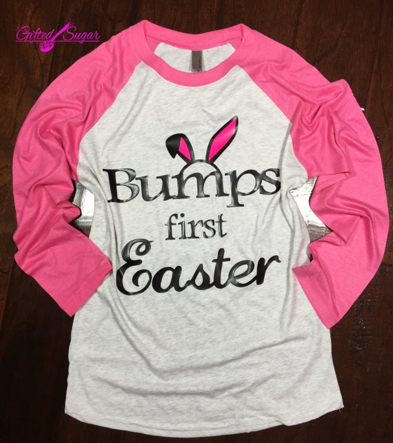 Items Similar To Bumps First Easter, Easter Maternity