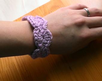 Soft Bracelet, crocheted bracelet, bracelet, handmade bracelet, cuff bracelet, bangle bracelet