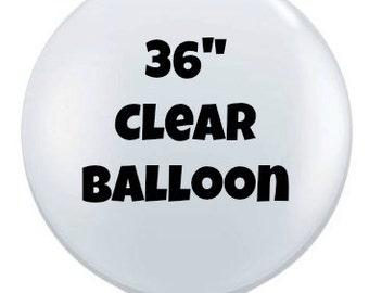 "36"" Clear Balloon"