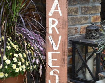"""Autumn """"Harvest"""" Hand Painted Sign"""