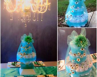Fancy Diaper Cake