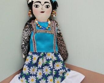 beautiful Blue Frida.