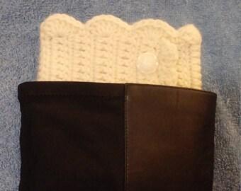 Pretty Crochet Boot Cuffs