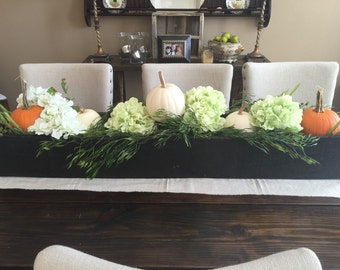 Rustic centerpiece box