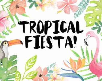 Tropical Fiesta | Design Resource