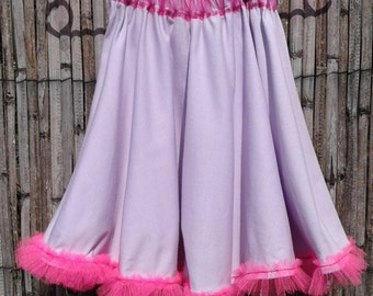 Beautiful cotton flared skirt
