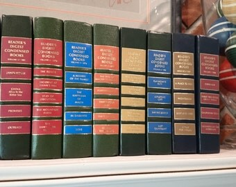 Collection of 9 Reader's Digest Books/Hues of Vintage Croquet Balls