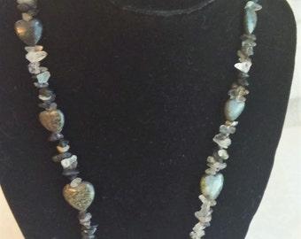 Serpentine necklace | Etsy  Serpentine neck...