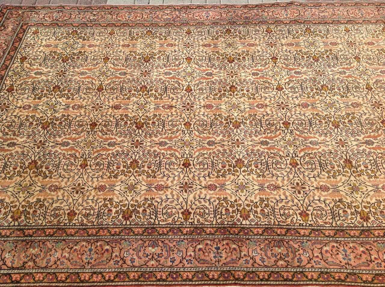 Area Rug 114u0027u0027 X 77u0027u0027 Neutral Color Rug Beige