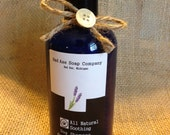 Natural Soothing Dog Shampoo/ natural dog shampoo/ non toxic/ itchy coat relief/made in Michigan