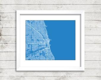 Chicago Line Art Print