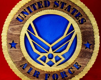 United States Air Force Tribute  Plaque