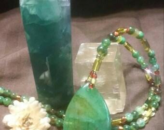 Gorgeous Green Agate