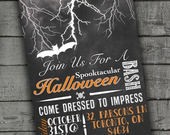 Halloween Party Invitations, Halloween Invites, Printable Invitations, Party Printables, Printable Party Invites, Halloween Party Invites