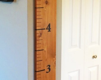 Six Foot Growth Chart Ruler