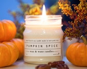 AUTUMN: Pumpkin Spice Soy Candle