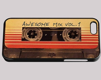 Mix Tape Retro Funny Quirky iPhone Cover 4/4S 5/5S 5C 6 6 Plus Phone Case inspired by Guardians of the Galaxy Samsung HTC Nokia