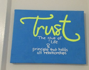 Trust Canvas