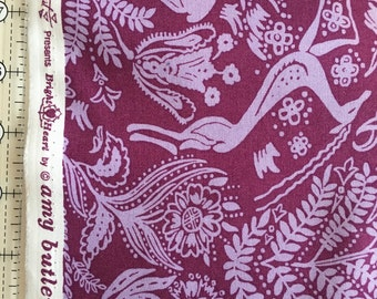 Amy Butler Bright Heart Fabric by the Yard-Free Spirit PWAB150 Oh Deer
