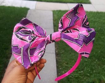 Pink and Purple kids headband