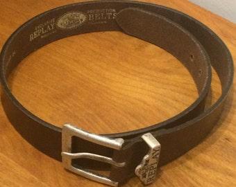 Vintage REPLAY Leather Belt