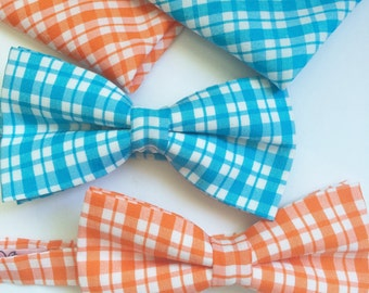 Bow tie/ Gingham check