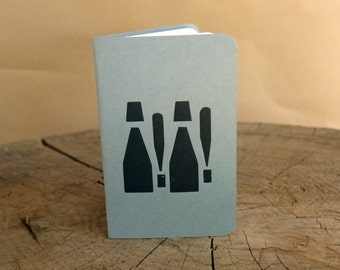 Letterpress Booklet, Exclaimation ! Wood type