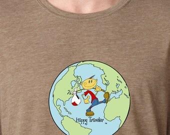 Happy Traveler (Globe) Shirt