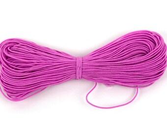 50m Pink Kandi Elastic String