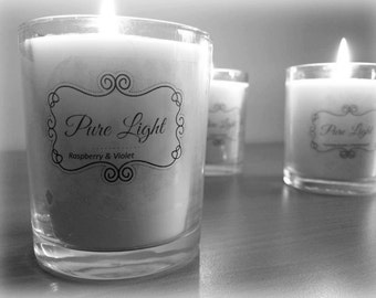 Hand-Poured Soy Candles - PureLight Soy Candles