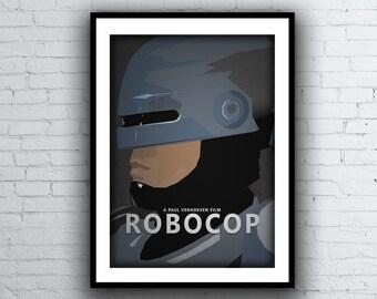 Robocop Sci Fi Movie Poster