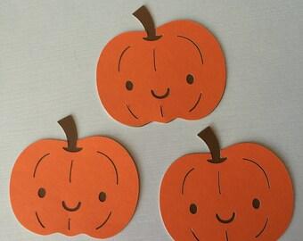 Orange Pumpkin die-cut