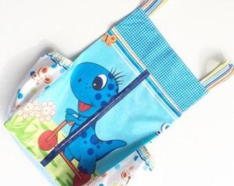 Diaper stacker - Diaper holder -  Diaper organizer - Newborn nursury accessory - Storage bag