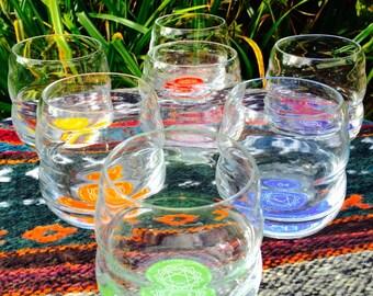Chakra Affirmation Glasses Set