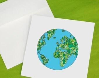 Happy Sea Globe Card