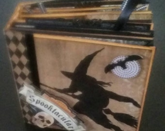 6x6 Halloween Mini Album