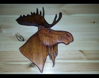 Decorative Moose head