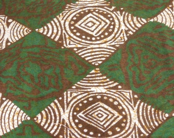 """African batik fabric- 4 yards at 44"""""""