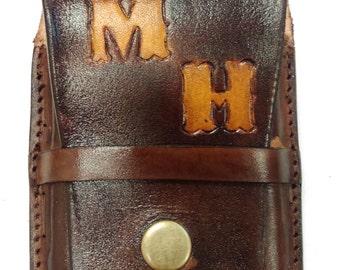Mens credit card walet holder color black or brown
