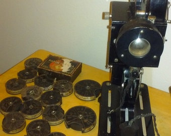 Patheorama Film Projector Film