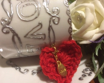 LOVE Stichmarker (Lobster Claw Clasp)