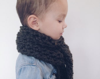 Long open ended scarf for kids