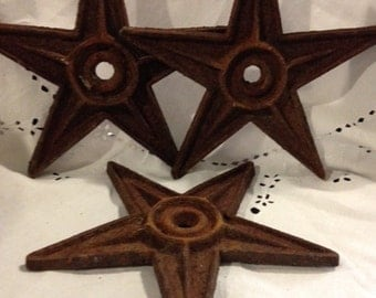 1 Reproduction Architectural Cast Iron Star